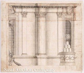 Francesco Borromini, His Studio, Or A Follower