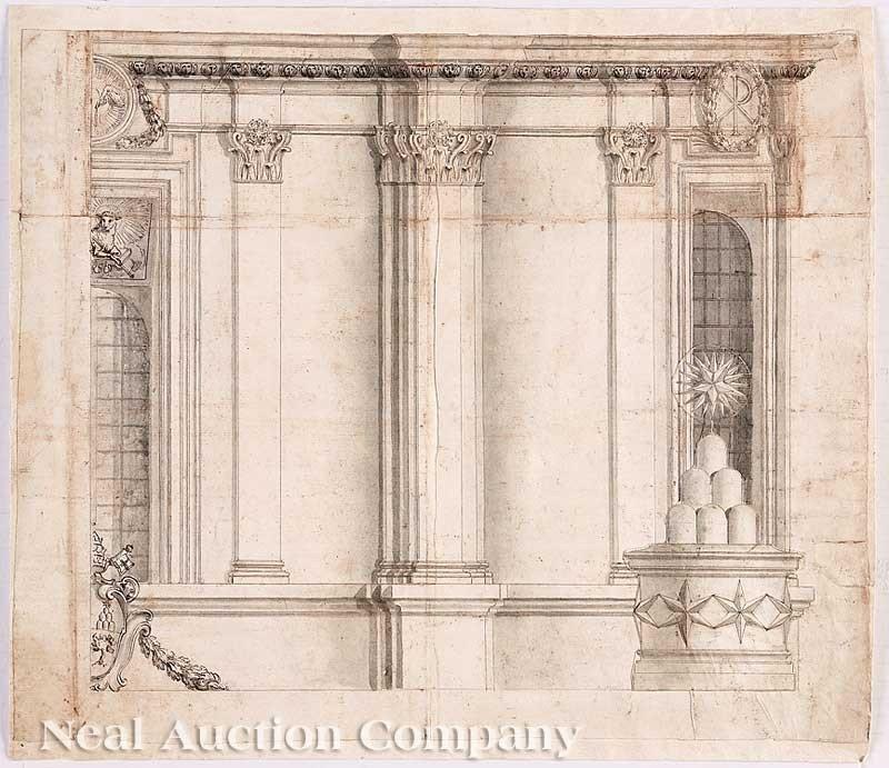 0038: Francesco Borromini, his Studio, or a Follower