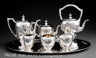 0372: Dominick & Haff Silver Tea & Coffee Service
