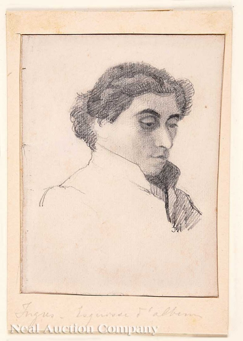 0024: Follower of Jean-Auguste-Dominique Ingres