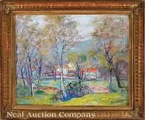 0518 American Impressionist School early 20th c