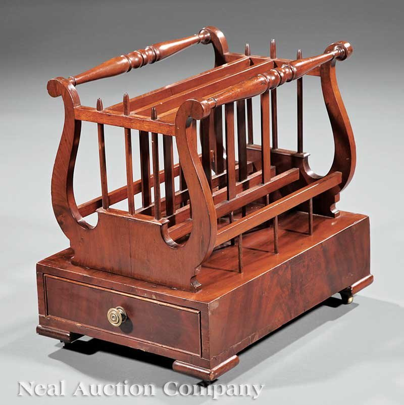 12: American Classical Mahogany Canterbury