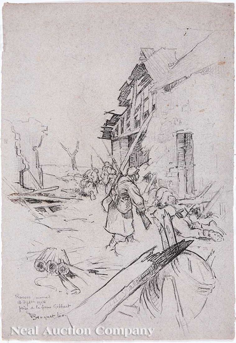 23: Leon Esperance Broquet (French, 1869-1936)