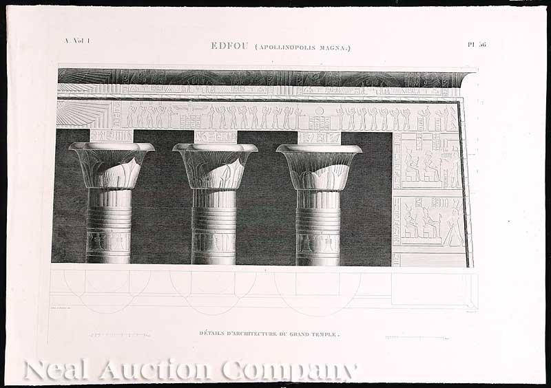 24: [Egyptian Views] 13 Engravings, 1815 & 1828