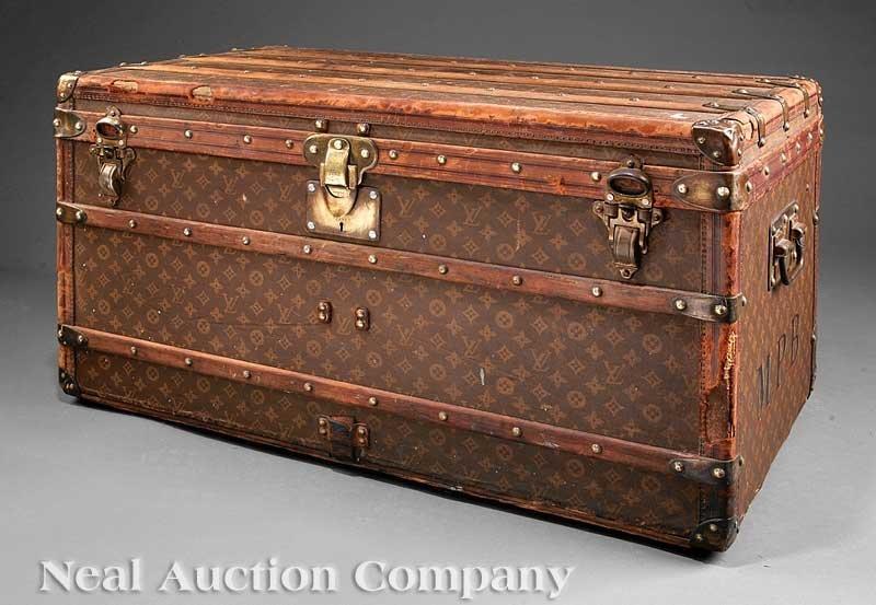 63: Vintage Louis Vuitton Trunk