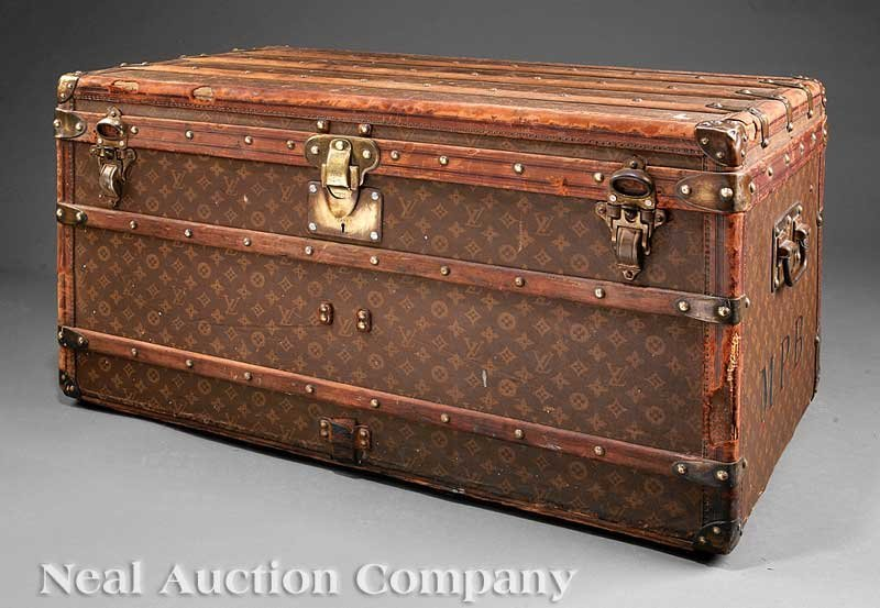 63: Vintage Louis Vuitton Trunk