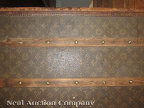 63: Vintage Louis Vuitton Trunk - 7