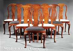 Schmeig Hungate Kotzian Walnut Dining Chairs