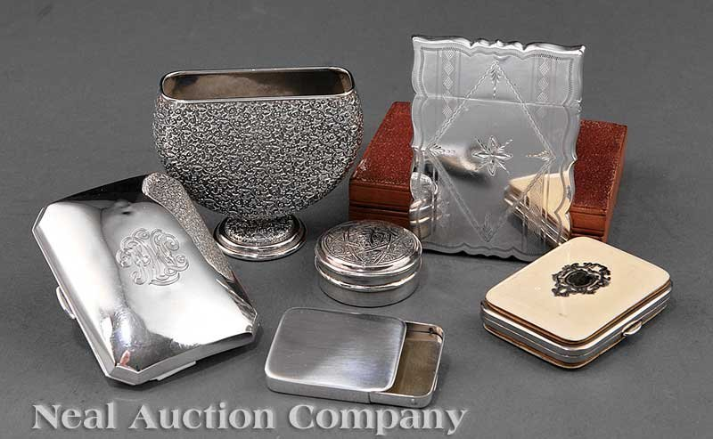 635: Group of American Sterling Silver Objects