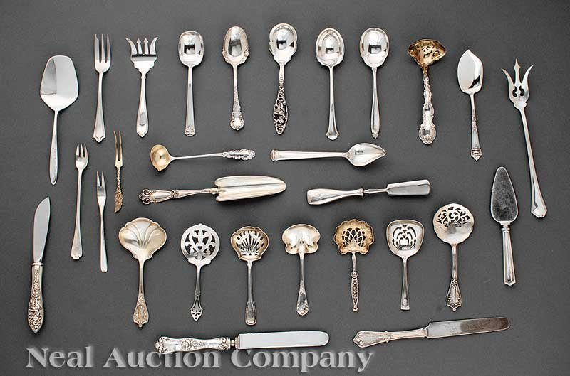 639: Miscellaneous Group of American Sterling Silver
