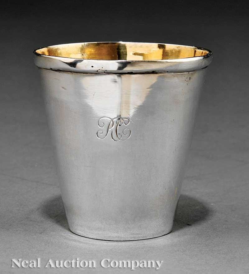 642: George III Sterling Silver Beaker