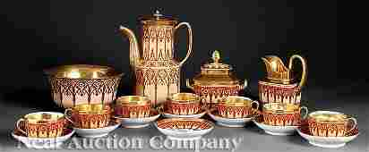 202 Paris Porcelain Coffee Service poss Schoelcher