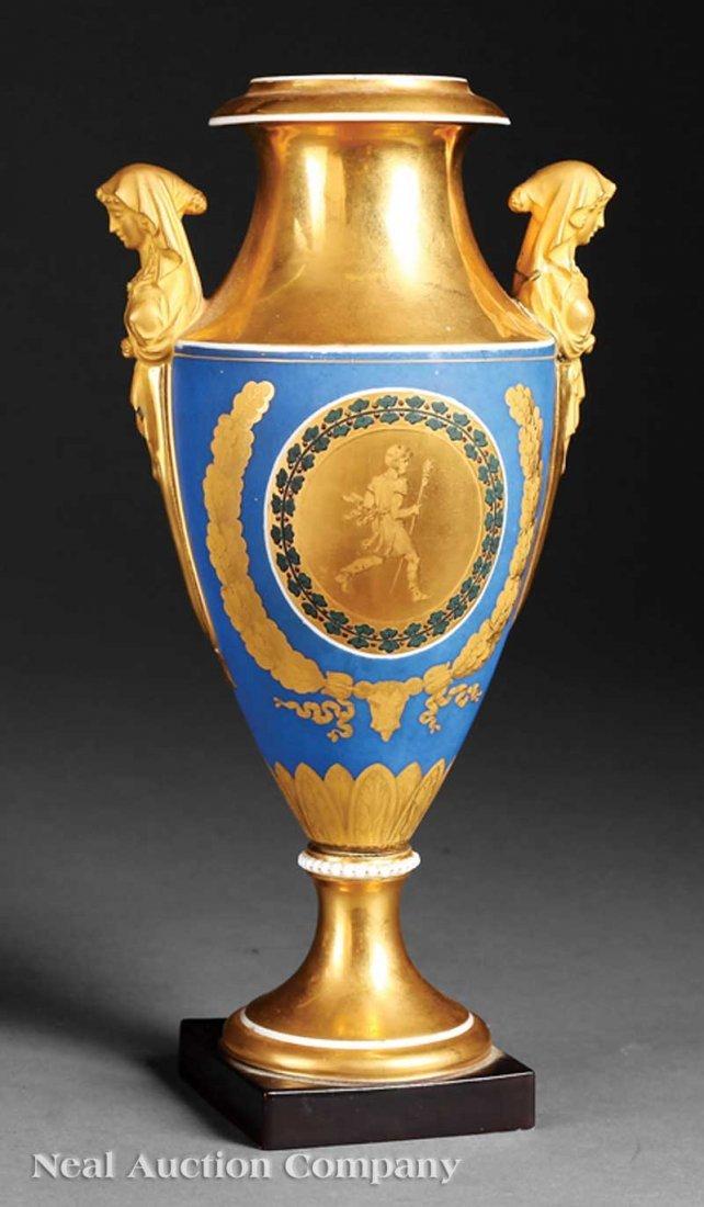 804: Paris Porcelain Vase