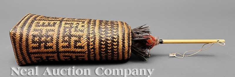0665: An Amazonian Basketry Shaman's Rattle