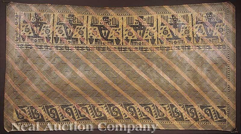 0682: An Indonesian Ceremonial Mat