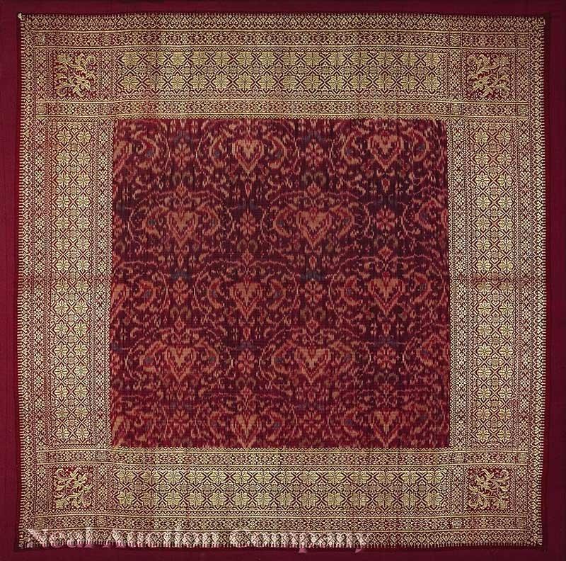 0684: An Indonesian Silk Ikat Kepala