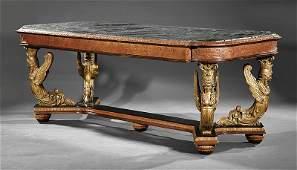 A Belle Epoque Fruitwood Center Table