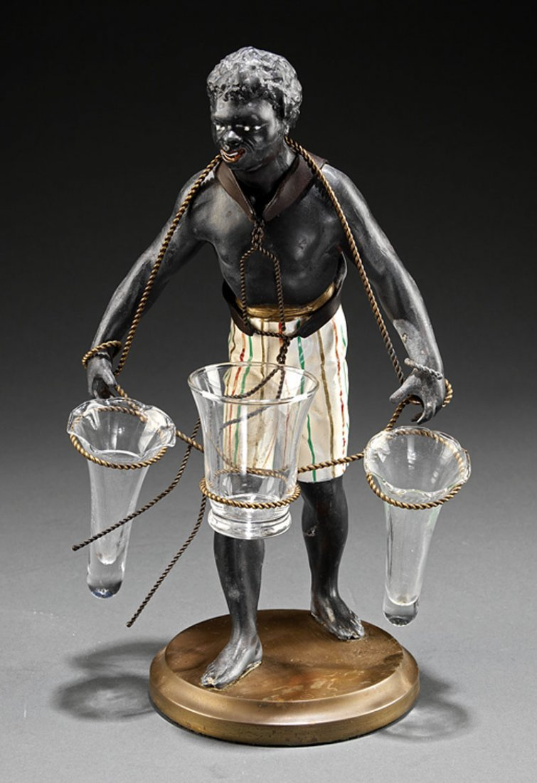 A Blackamoor Table Figure