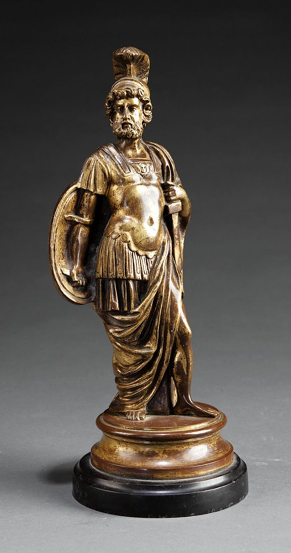 A French Bronze Figure of Mars