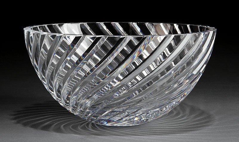 A Orrefors Crystal Bowl