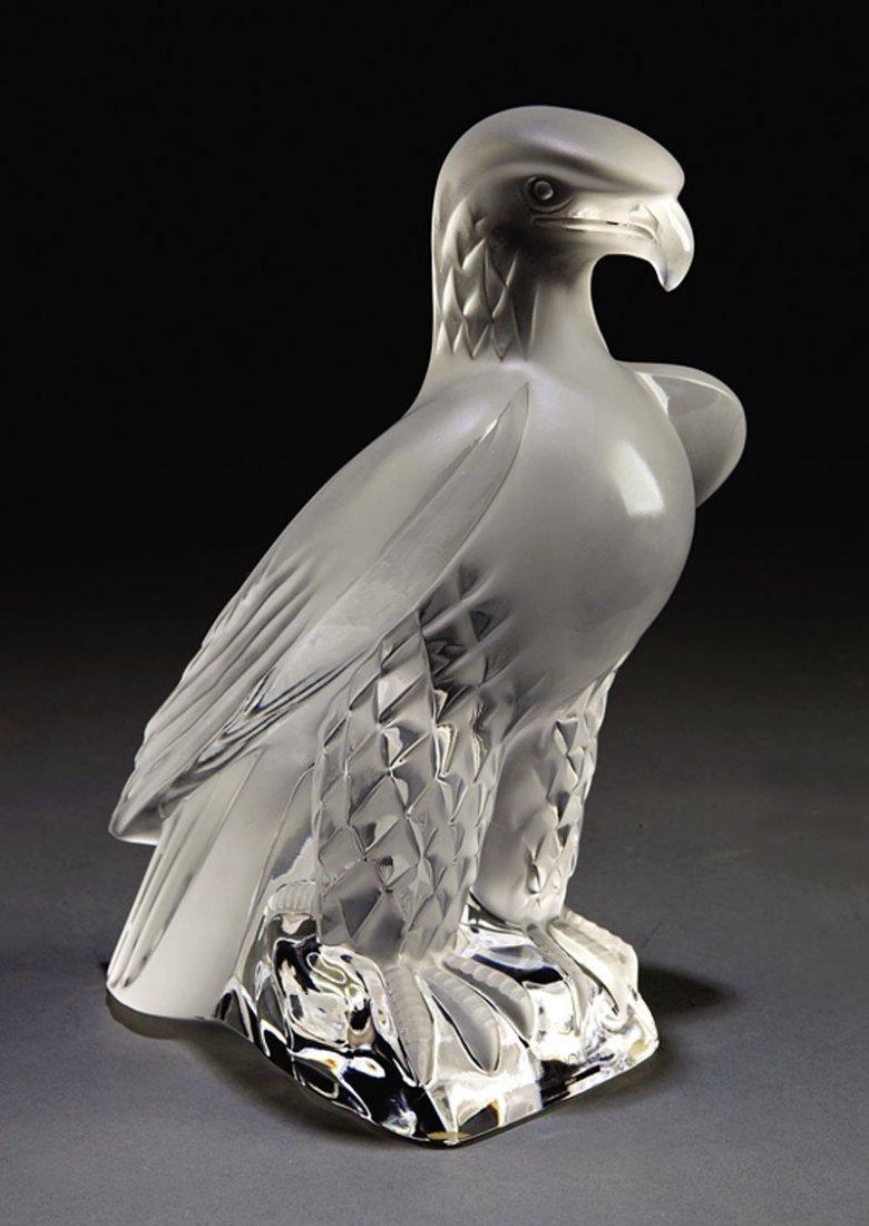 """A Lalique Glass """"Liberté"""" Figure"""