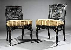 Two American Aesthetic Side Chairs