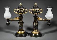 Messenger  Son SingleLight Argand Lamps