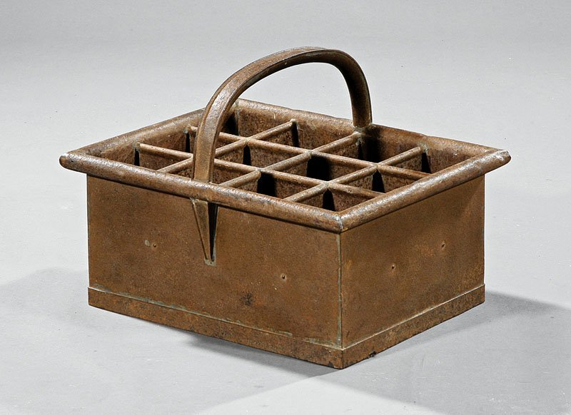 French Iron Wine Carrier