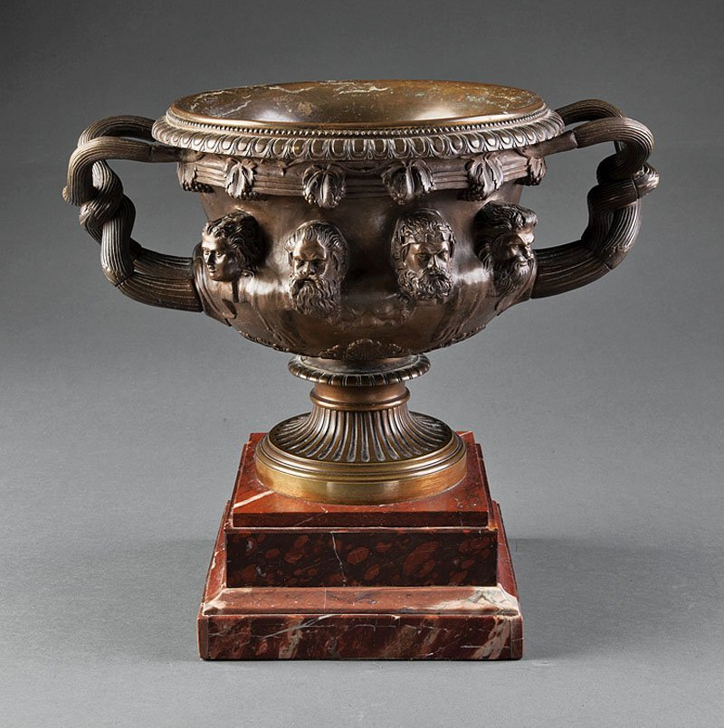 """A Patinated Bronze of """"The Warwick Vase"""""""