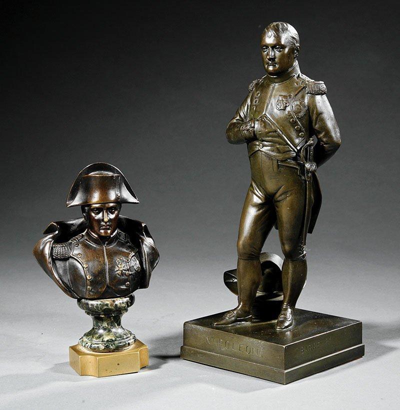 A Bronze Figure of the Standing Napoleon