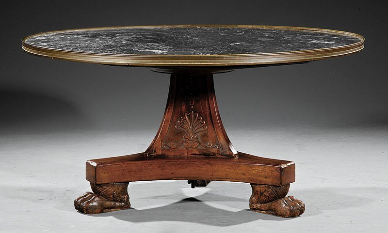 Mahogany Low Table, in the manner of Thomas Hope