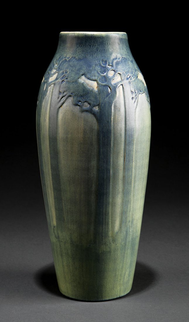 A Newcomb College Art Pottery Matte Gl