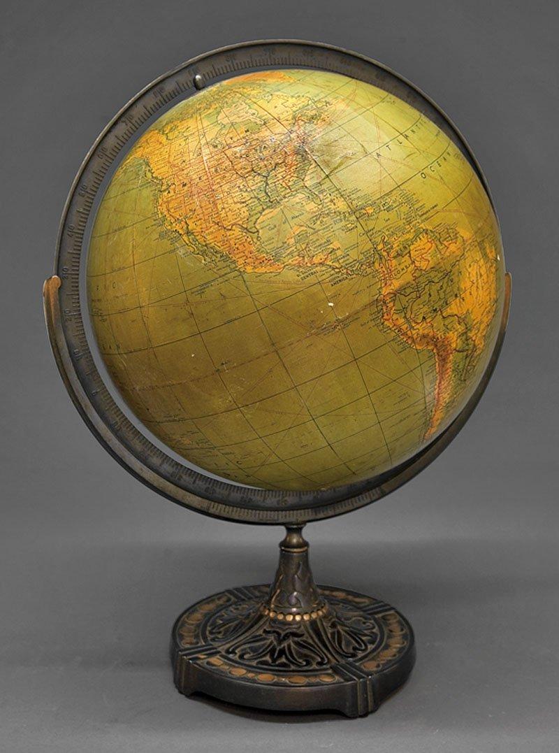 An American Sixteen-Inch Terrestrial Globe