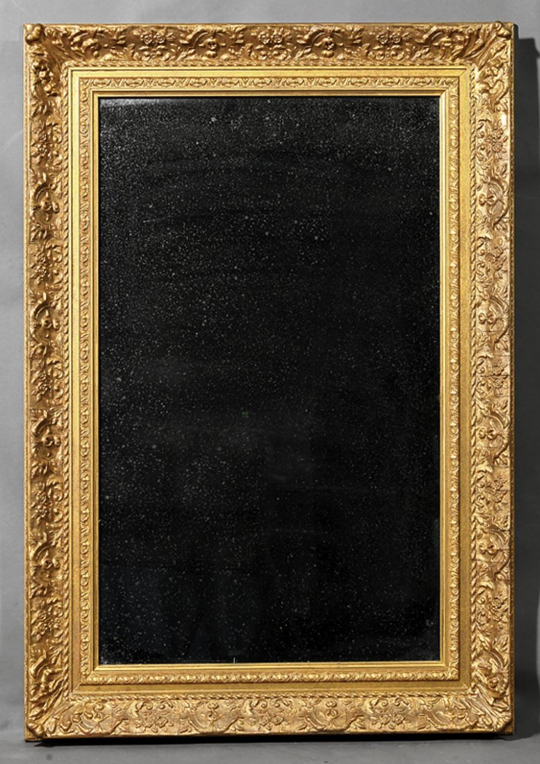 Two Continental Carved and Giltwood Mirrors