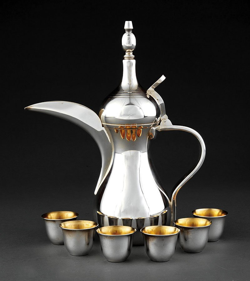 Asprey & Co. Sterling Silver Coffee Service