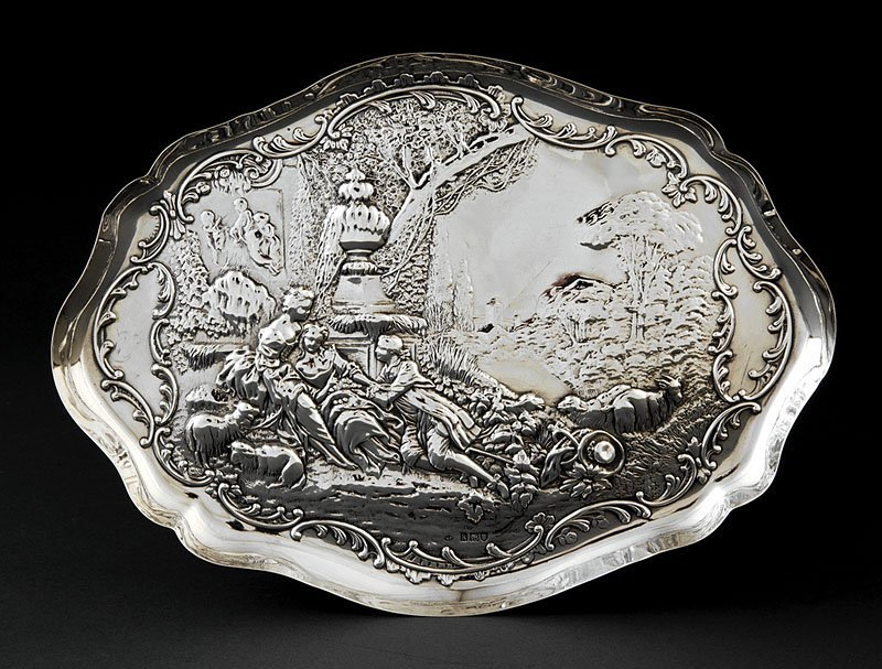 William Comyns Sterling Silver Dish