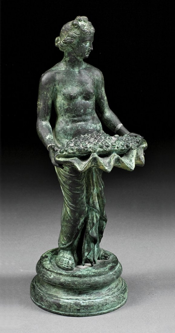 Bronze of Figure of Venus Maritima