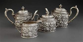 Jacobi & Jenkins Sterling Coffee/Tea Service
