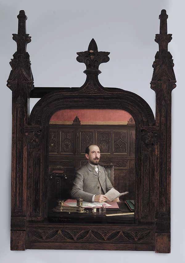 0167: Georges Croegaert (Belgian, 1848-1923,