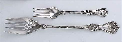 0836 Four American Sterling Silver Serving