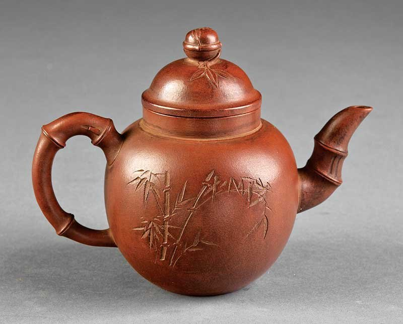 A Chinese Yixing Pottery Teapot
