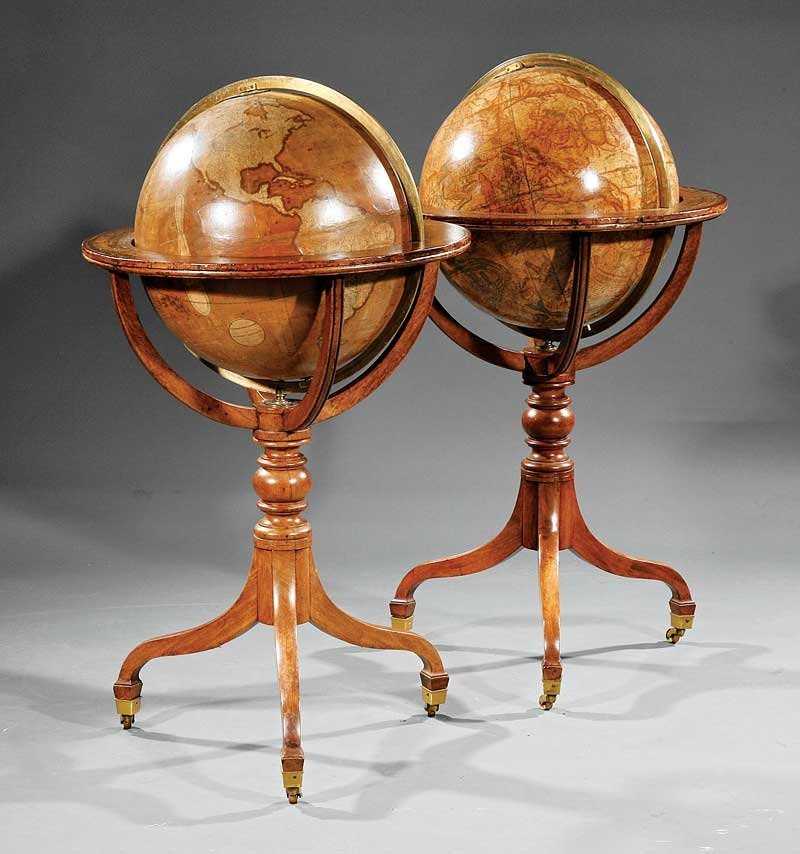 Smith, London, 18-Inch Library Globes