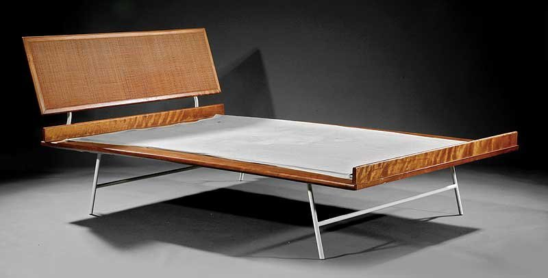 """George Nelson for Herman Miller """"Thin Edge"""" Bed"""