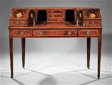Schmieg & Kotzian Mahogany Carlton House Desk