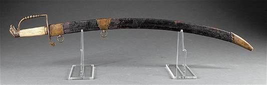An American Eagle-Head Officer's Sword
