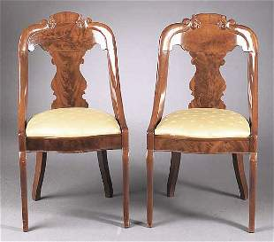 A Pair of American Late Classical Maho
