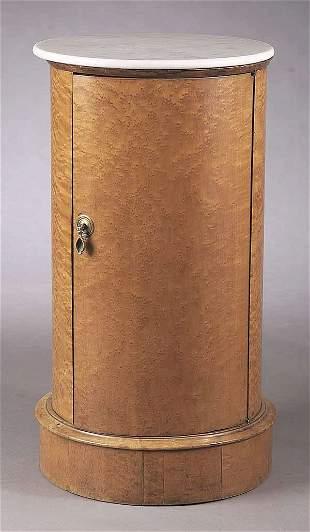 A William IV Birdseye Maple Pedestal C