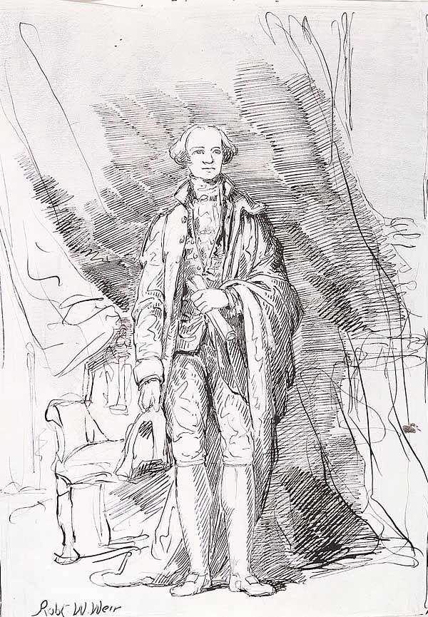 0014: Robert Walter Weir (American, 1803-188