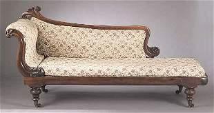 A William IV Mahogany Grecian Couch