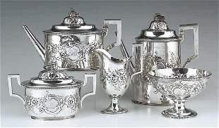 A Fine American Sterling Silver Coffee
